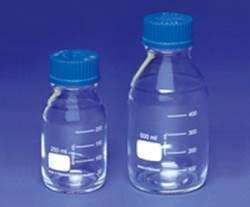 Bottiglia autoclavabile ml. 50 in vetro con tappo